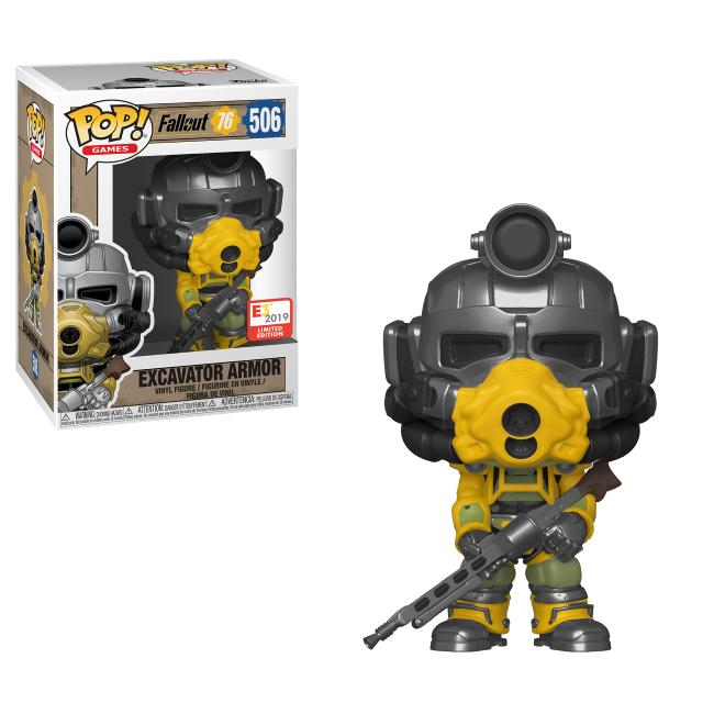 Pop! Games: Fallout 76 - Excavator Armour