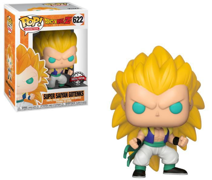 Pop! Animation: Dragonball Z - Super Saiyan 3 Gotenks [Kun Hos GameStop]