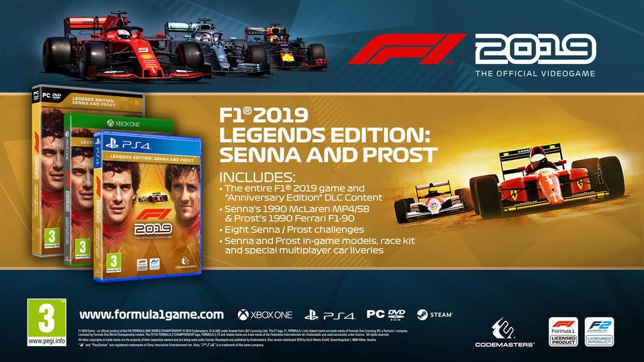 F1® 2019 Legends Edition