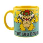 "Super Mario ""The Big Boss"" Bowser Large Ceramic Mug"