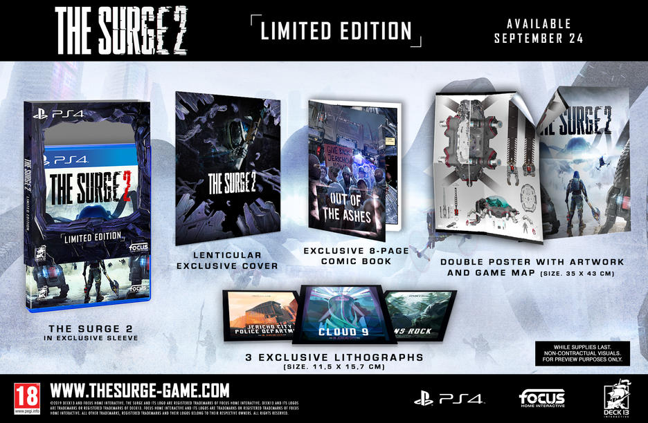 The Surge 2 Limited Edition [Kun Hos GameStop]