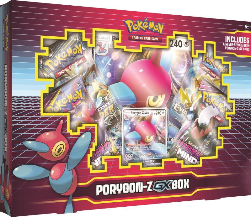 Pokemon TCG: Porygon-Z GX Box