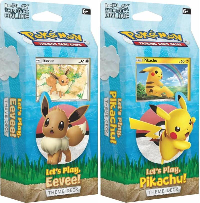 Pokémon TCG: Let's Play Theme Deck [Assorted]