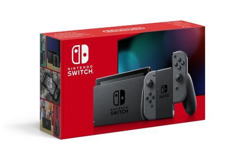 Nintendo Switch™ 1.1 Grey Konsol