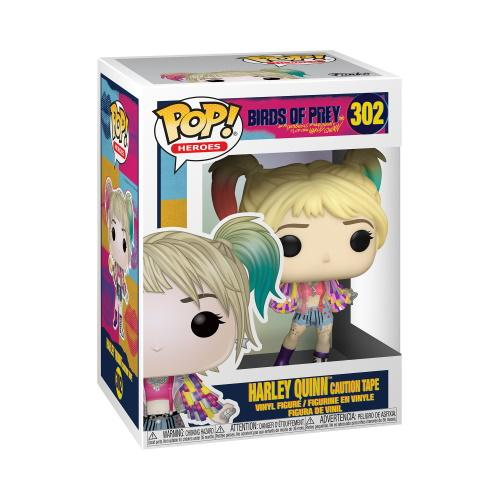 POP Heroes: Birds of Prey- Harley Quinn (Caution Tape)