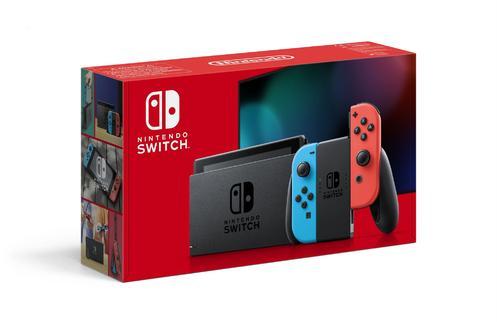 Nintendo Switch™ 1.1 Red/Blue Konsol