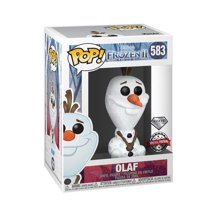 POP Disney: Frozen 2 - Olaf Diamond Glitter Collection [Kun Hos GameStop]