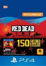 Red Dead Redemption 2: 150 guldbarrer til PS4
