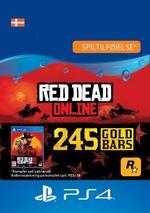 Red Dead Redemption 2: 245 guldbarrer til PS4