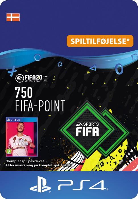 FIFA 20 Ultimate Team™ - 750 Points til PS4 [DIGITAL]