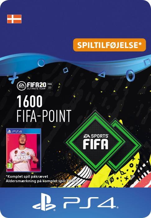 FIFA 20 Ultimate Team™ - 1600 Points til PS4 [DIGITAL]