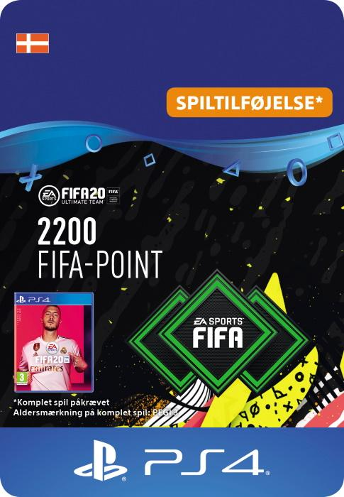 FIFA 20 Ultimate Team™ - 2200 Points til PS4 [DIGITAL]