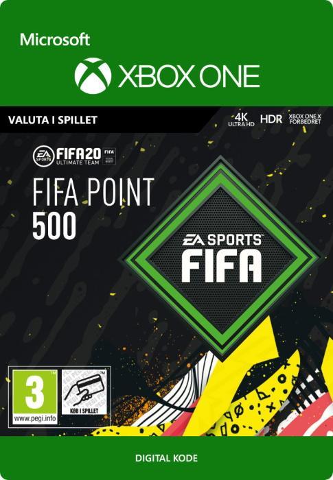 FIFA 20 Ultimate Team™ - 500 Points til Xbox One [DIGITAL]