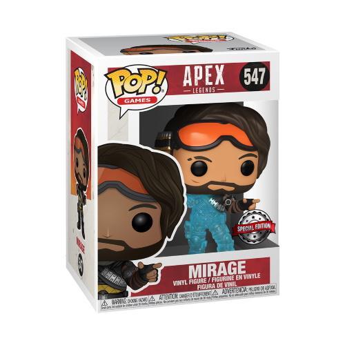 Pop! Games: Apex Legends - Mirage (Translucent) [Kun Hos GameStop]