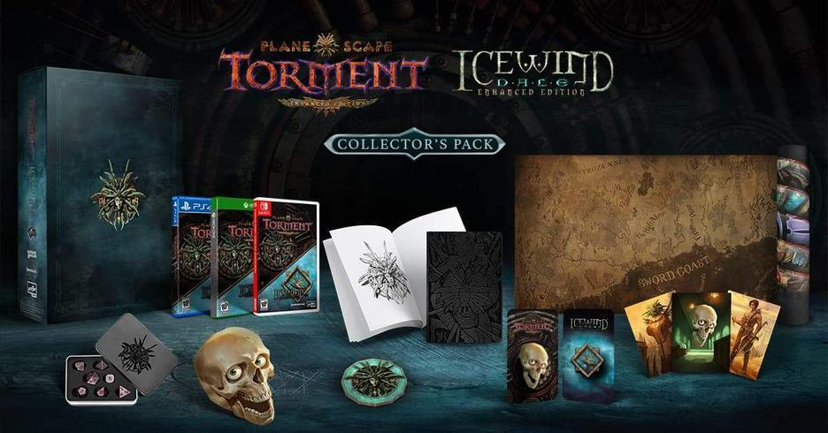 Planescape Torment / Icewind Dale Enhanced Edition Collector's Pack