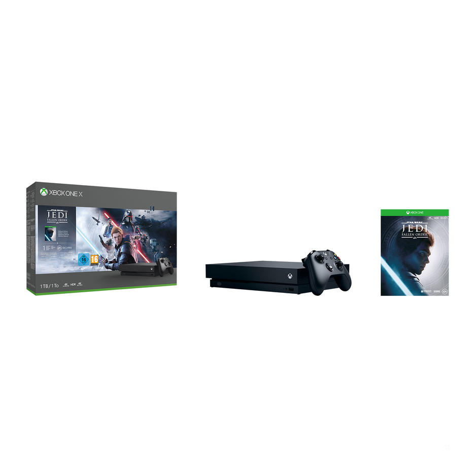 Xbox One X 1TB Konsol og Star Wars™ Jedi: Fallen Order™